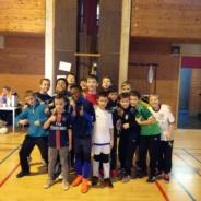 Compétition de foot en salle